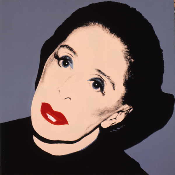 """No artist is ahead of his time. He is his time, it's just that others are behind the times."" ~ Martha Graham - portrait by Andy Warhol"