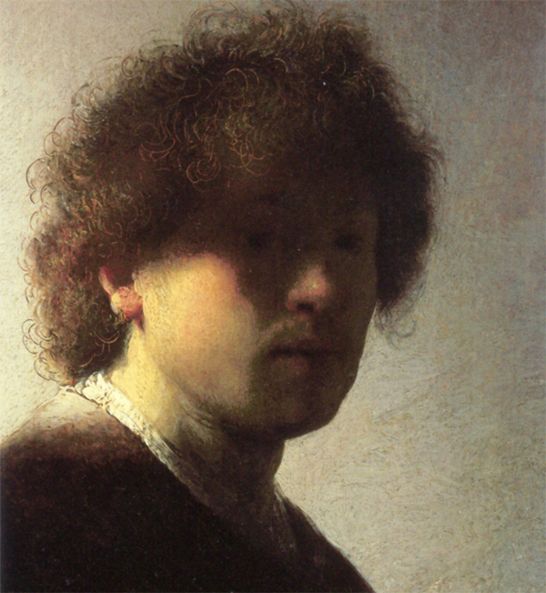 """Of course you will say that I ought to be practical and ought to try and paint the way they want me to paint. Well, I will tell you a secret. I have tried and I have tried very hard, but I can't do it. I just can't do it! And that is why I am just a little crazy."" - Rembrandt"