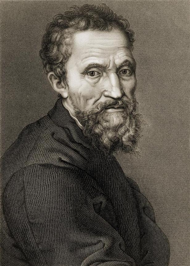 Michelangelo by Jean Louis Potrelle