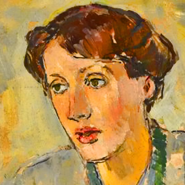 virginia wolf by vanessa bell