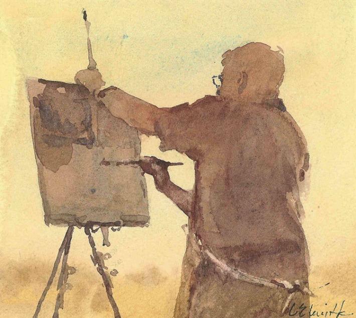 robert wade by artist lorraine lewitzka