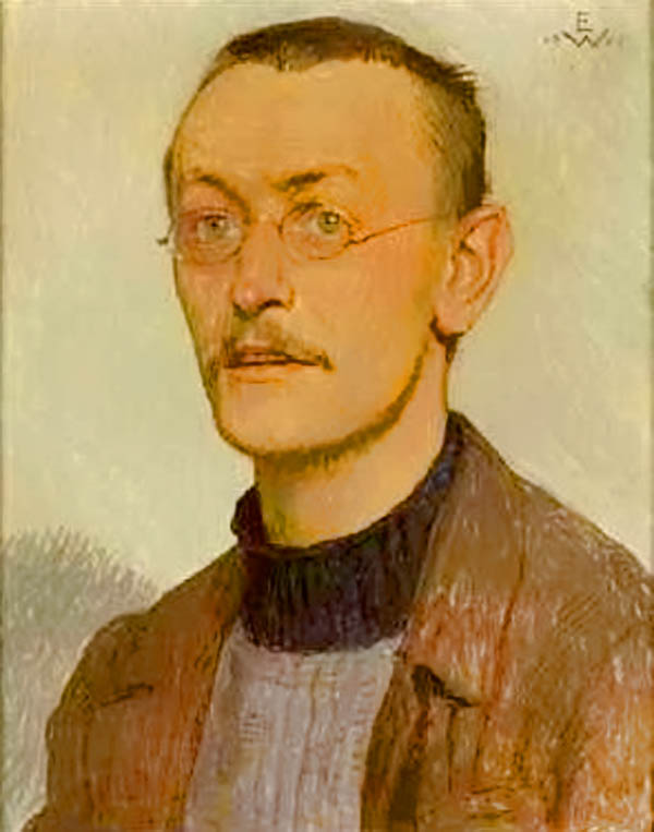 1905 Portrait by Ernst Würtenberger
