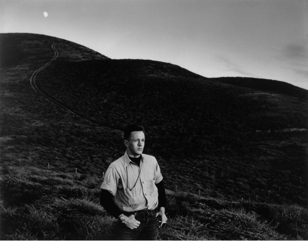"Man and Moon, Matchstick Cove. 1947. Gelatin silver print, 3 11/16 x 4 5/8"" (9.3 x 11.8 cm). Purchase."