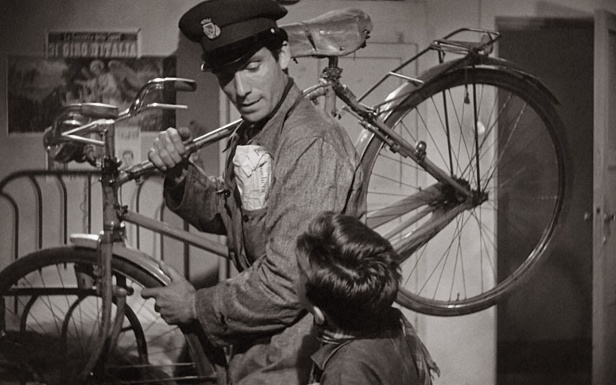 Lamberto Maggiorani as Antonio Ricci, The Bicycle Thief, 1948