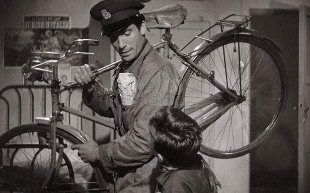 Lamberto Maggiorani as Antonio Ricci, The Bicycle Thief, 1948