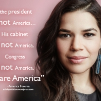 """the president is not America...His cabinet is not America. Congress is not America. We are America"""