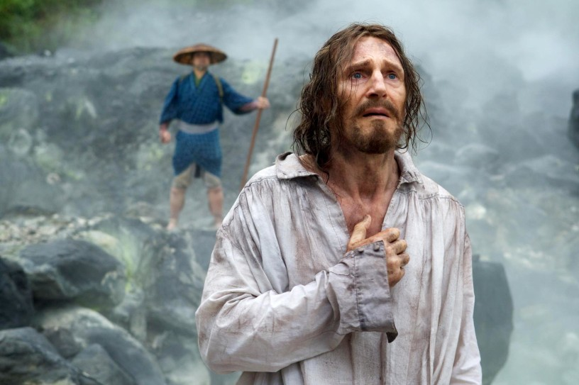 Liam Neeson in Martin Scorcese's 2016 film Silence