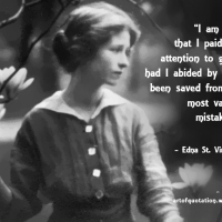"""I am glad that I paid so little attention to good advice; had I abided by it I might have..."""