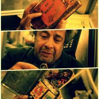"""""""To a kid, time always drags. Suddenly you're fifty. All that's left of your childhood... fits in a rusty little box."""""""