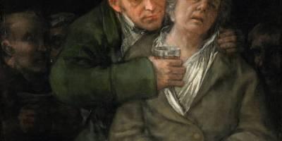 Self portrait - Francisco Goya with Doctor Arrieta
