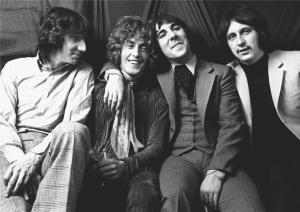 The Who: Pete Townshend, Roger Daltrey, Keith Moon, John Entwistle