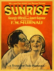 Original Movie Poster for Sunrise, Best Picture, 1928