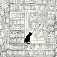 """Books, Cats, Life is Good."""