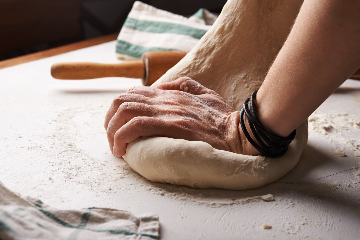 """No yoga exercise, no meditation in a chapel filled with music will rid you of your blues better than the humble task of making your own bread."""