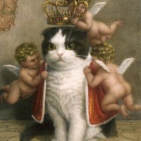 """In ancient times cats were worshipped as gods; they have not forgotten this."""